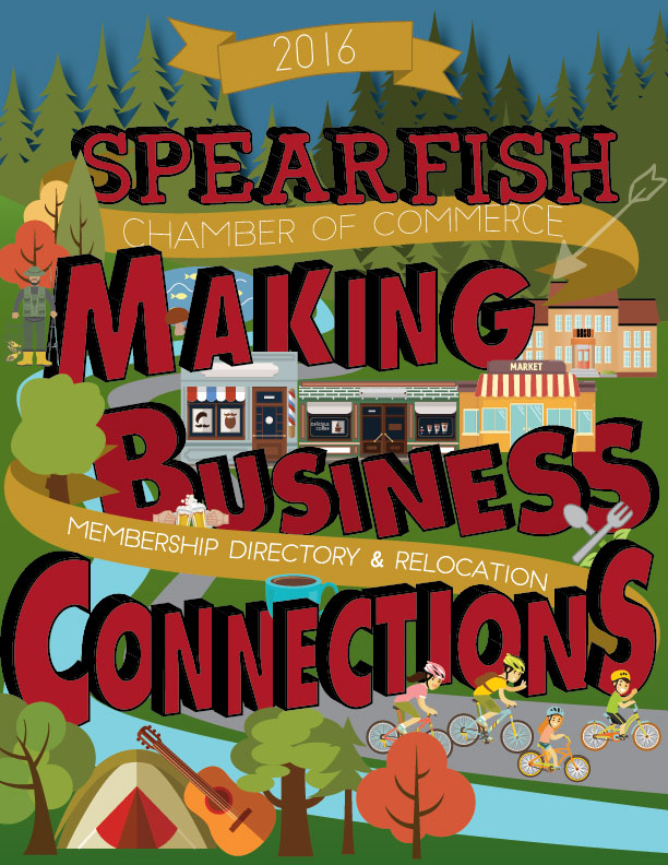 Spearfish Chamber Connections Magazine, Business Directory
